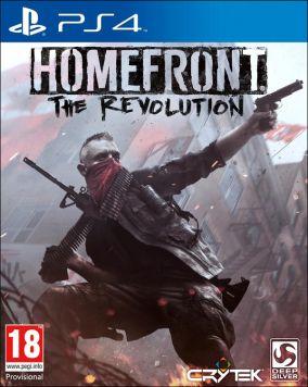Immagine della copertina del gioco Homefront: The Revolution per Playstation 4