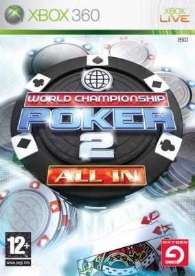 Copertina del gioco World Championship Poker 2 All In Classics per Xbox 360