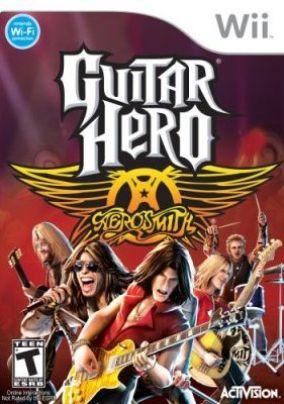 Immagine della copertina del gioco Guitar Hero: Aerosmith per Nintendo Wii