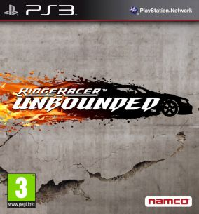 Copertina del gioco Ridge Racer Unbounded per PlayStation 3