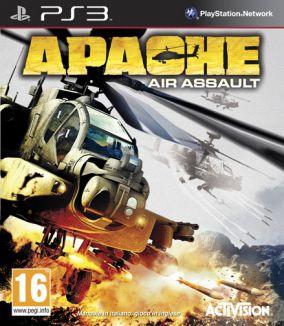 Immagine della copertina del gioco Apache: Air Assault per PlayStation 3