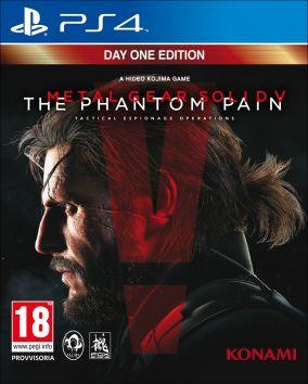Immagine della copertina del gioco Metal Gear Solid V: The Phantom Pain per PlayStation 4