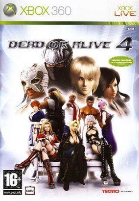 Copertina del gioco Dead or Alive 4 per Xbox 360