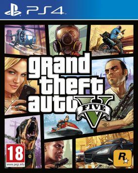 Immagine della copertina del gioco Grand Theft Auto V - GTA 5 per PlayStation 4