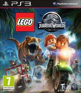 Copertina del gioco LEGO Jurassic World per PlayStation 3