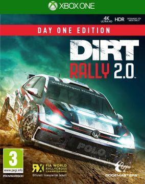 Copertina del gioco DiRT Rally 2.0 per Xbox One