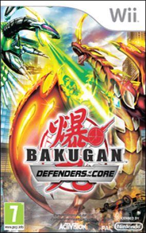 Immagine della copertina del gioco Bakugan Battle Brawlers: I Difensori della Terra per Nintendo Wii