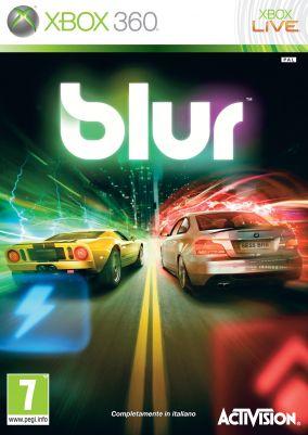 Copertina del gioco Blur per Xbox 360