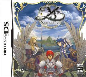 Immagine della copertina del gioco Ys Strategy per Nintendo DS
