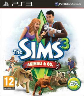 Copertina del gioco The Sims 3 Animali & Co. per PlayStation 3
