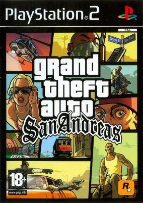 Immagine della copertina del gioco Gta: San Andreas per PlayStation 2
