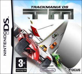 Copertina del gioco TrackMania DS per Nintendo DS