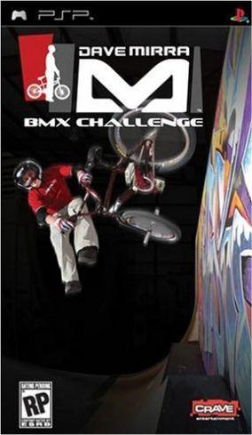 Immagine della copertina del gioco Dave Mirra BMX Challenge per Playstation PSP