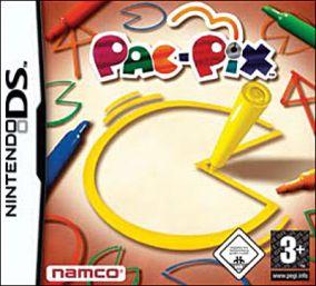 Immagine della copertina del gioco Pac-Pix per Nintendo DS