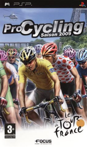 Copertina del gioco Pro Cycling Manager - Tour De France 2009 per PlayStation PSP