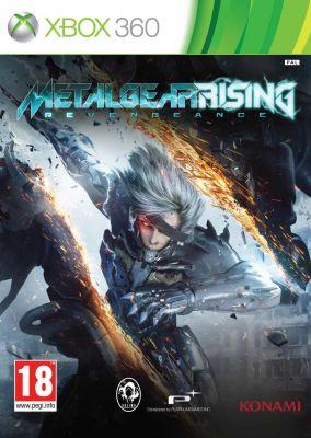 Copertina del gioco Metal Gear Rising: Revengeance per Xbox 360