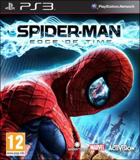 Copertina del gioco Spider-Man: Edge of Time per PlayStation 3