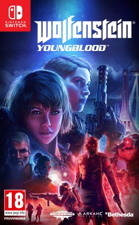Copertina del gioco Wolfenstein: Youngblood per Nintendo Switch