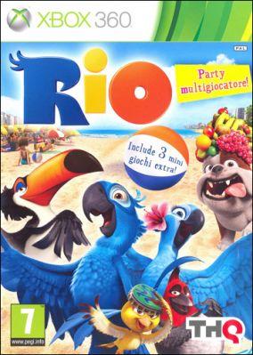 Copertina del gioco Rio per Xbox 360