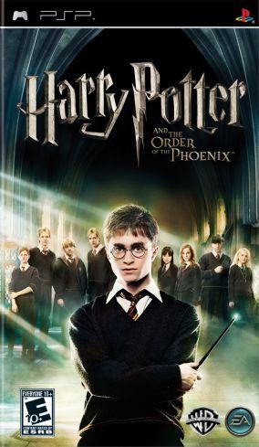Immagine della copertina del gioco Harry Potter e l'Ordine della Fenice per PlayStation PSP