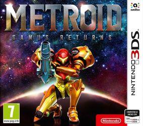 Copertina del gioco Metroid: Samus Returns per Nintendo 3DS