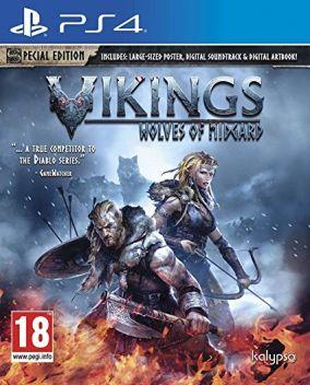 Immagine della copertina del gioco Vikings: Wolves of Midgard per Playstation 4