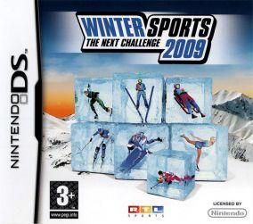 Immagine della copertina del gioco Winter Sports 2009: The Next Challenge per Nintendo DS