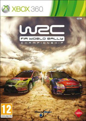 Copertina del gioco WRC FIA World Rally Championship per Xbox 360