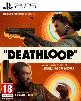 Copertina del gioco Deathloop per PlayStation 5