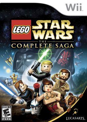 Immagine della copertina del gioco LEGO Star Wars: La saga completa per Nintendo Wii
