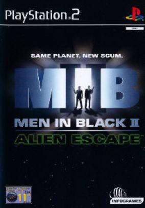 Copertina del gioco Men in black 2: alien escape per PlayStation 2