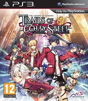 Copertina del gioco The Legend of Heroes: Trails of Cold Steel per PlayStation 3