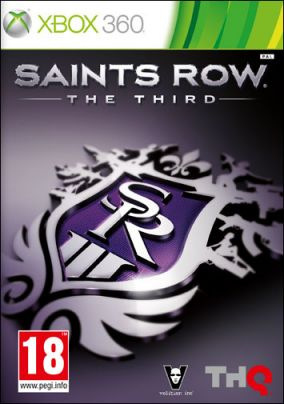 Copertina del gioco Saints Row: The Third per Xbox 360