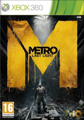 Copertina del gioco Metro: Last Light per Xbox 360