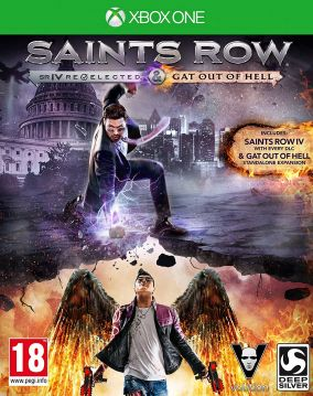 Copertina del gioco Saints Row IV: Re-Elected per Xbox One
