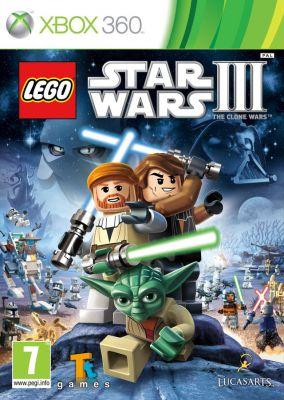 Copertina del gioco LEGO Star Wars III: The Clone Wars per Xbox 360