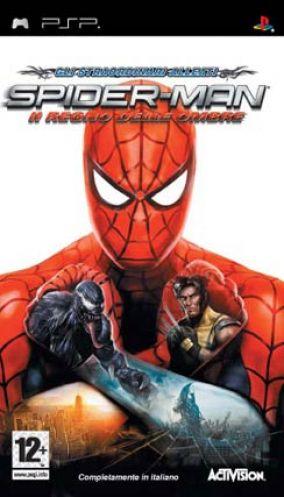 Immagine della copertina del gioco Spider-Man: Il Regno delle Ombre per PlayStation PSP