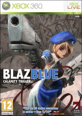 Copertina del gioco BlazBlue: Calamity Trigger per Xbox 360