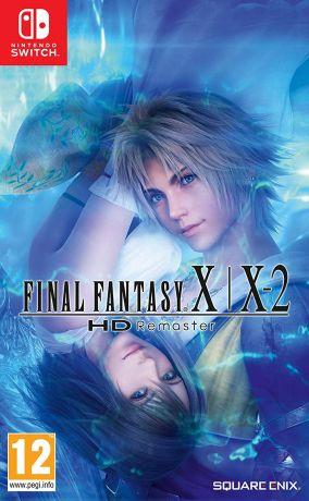Immagine della copertina del gioco Final Fantasy X/X-2 HD Remaster per Nintendo Switch