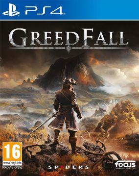 Copertina del gioco Greedfall per PlayStation 4