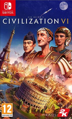 Copertina del gioco Civilization VI per Nintendo Switch