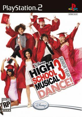 Copertina del gioco High School Musical 3: Senior Year Dance! per PlayStation 2
