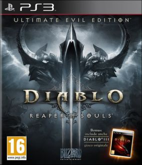 Copertina del gioco Diablo III: Ultimate Evil Edition per PlayStation 3