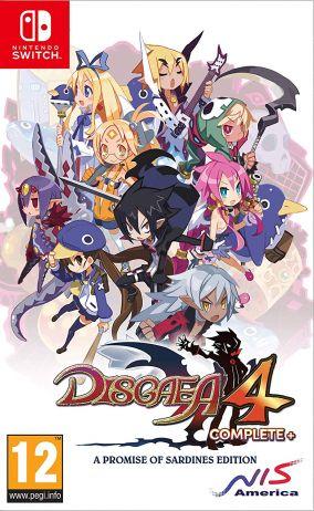 Copertina del gioco Disgaea 4 Complete+ per Nintendo Switch