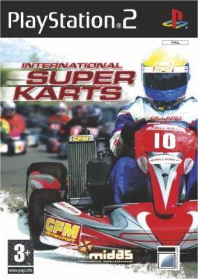Copertina del gioco International Super Karts per PlayStation 2