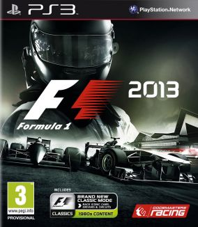 Copertina del gioco F1 2013 per PlayStation 3