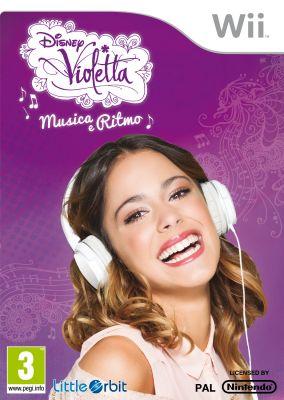 Immagine della copertina del gioco Violetta: Musica e Ritmo per Nintendo Wii