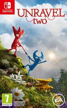Immagine della copertina del gioco Unravel Two per Nintendo Switch