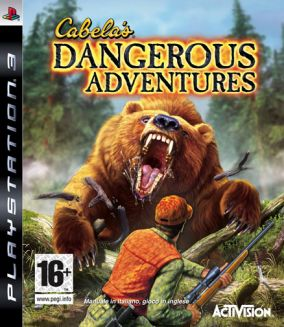Copertina del gioco Cabela's Dangerous Adventures per PlayStation 3