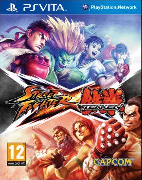 Immagine della copertina del gioco Street Fighter X Tekken per PSVITA